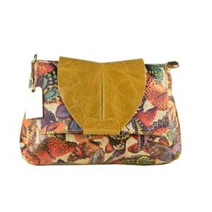 Žlutá kožená kabelka Matilde Costa Margate