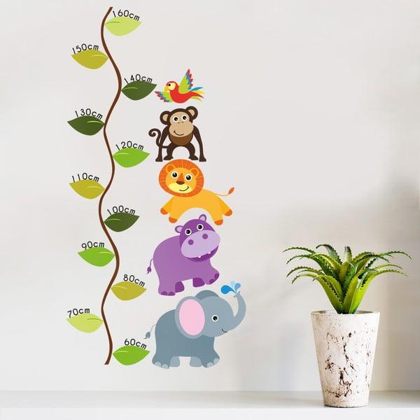 Dekorativní samolepka na zeď Jungle metr