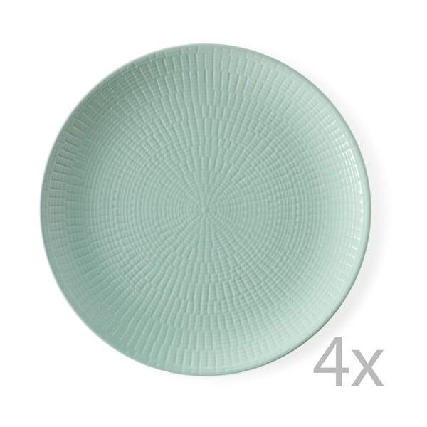 Sada 4 talířů Granaglie Eau, 27 cm