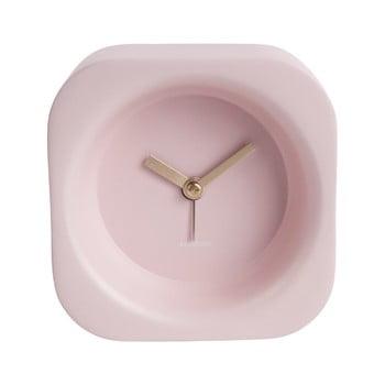 Ceas deșteptător Karlsson Chunky, roz deschis poza