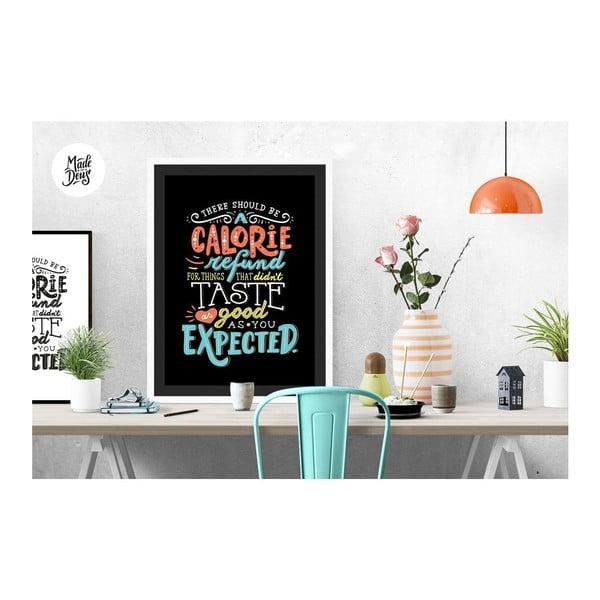 Plakát Calorie Refund, A3