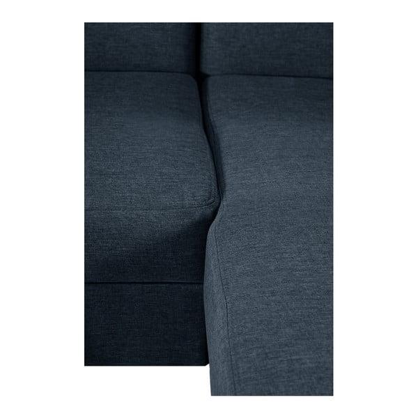Grafitově šedá sedačka Interieur De Famille Paris Bijou, pravý roh