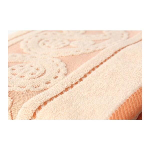 Sada 2 lososových ručníků Hurrem, 50x90 cm