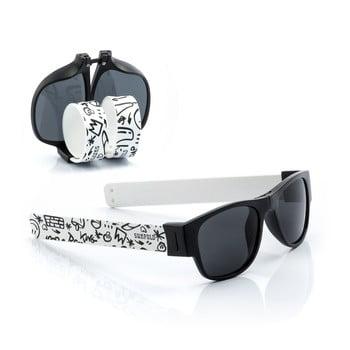Ochelari de soare pliabili InnovaGoods Sunfold ST2, negru - alb de la InnovaGoods