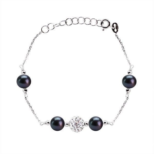 Náramek s říčními perlami Dominiki