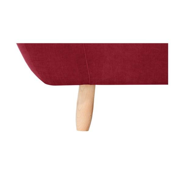 Červená trojmístná pohovka Jalouse Maison Vicky