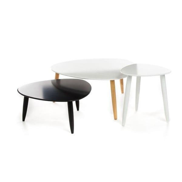 Sada 3 kávových stolků Tomasucci Kyra