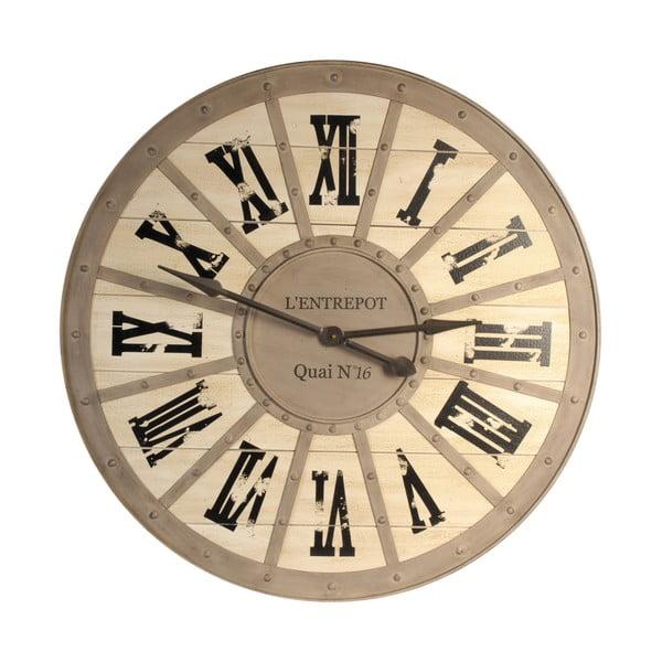 Nástěnné hodiny Antic Line Quai, ⌀93 cm