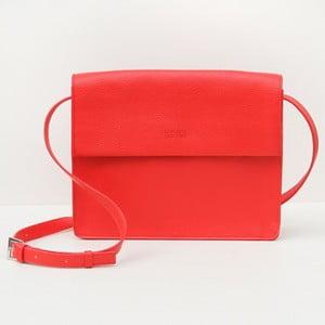 Červená kabelka Caroline Gardner Hoxton