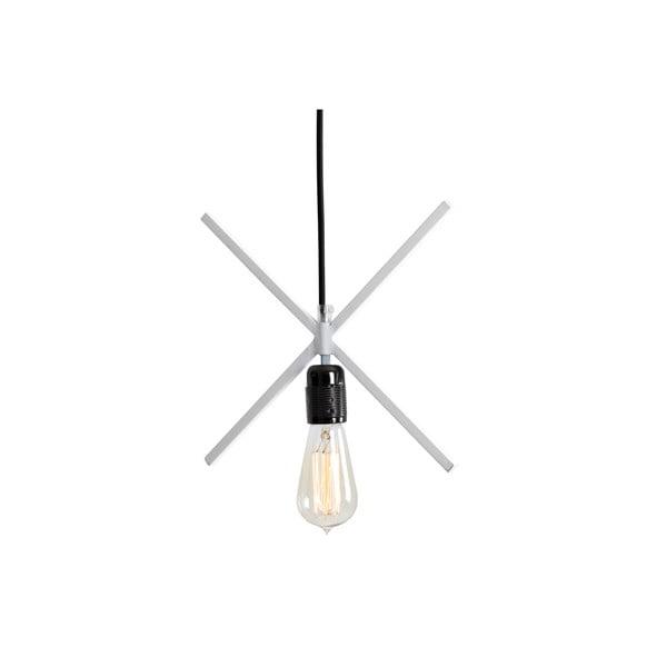 Biele závesné svietidlo Custom Form Xlamp