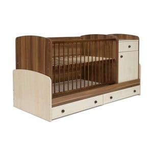Pătuț pentru copii cu sertar  Faktum Makao Kombi, 70 x 120 cm