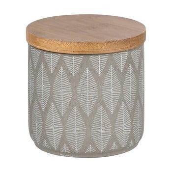 Recipient din ceramică cu capac din lemn de bambus Wenko Tupian de la Wenko