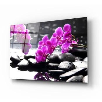 Tablou din sticlă Insigne Orchid poza