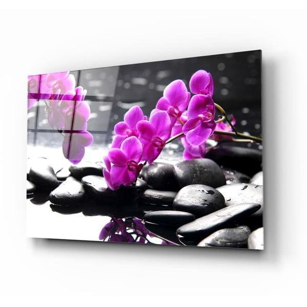 Tablou din sticlă Insigne Orchid