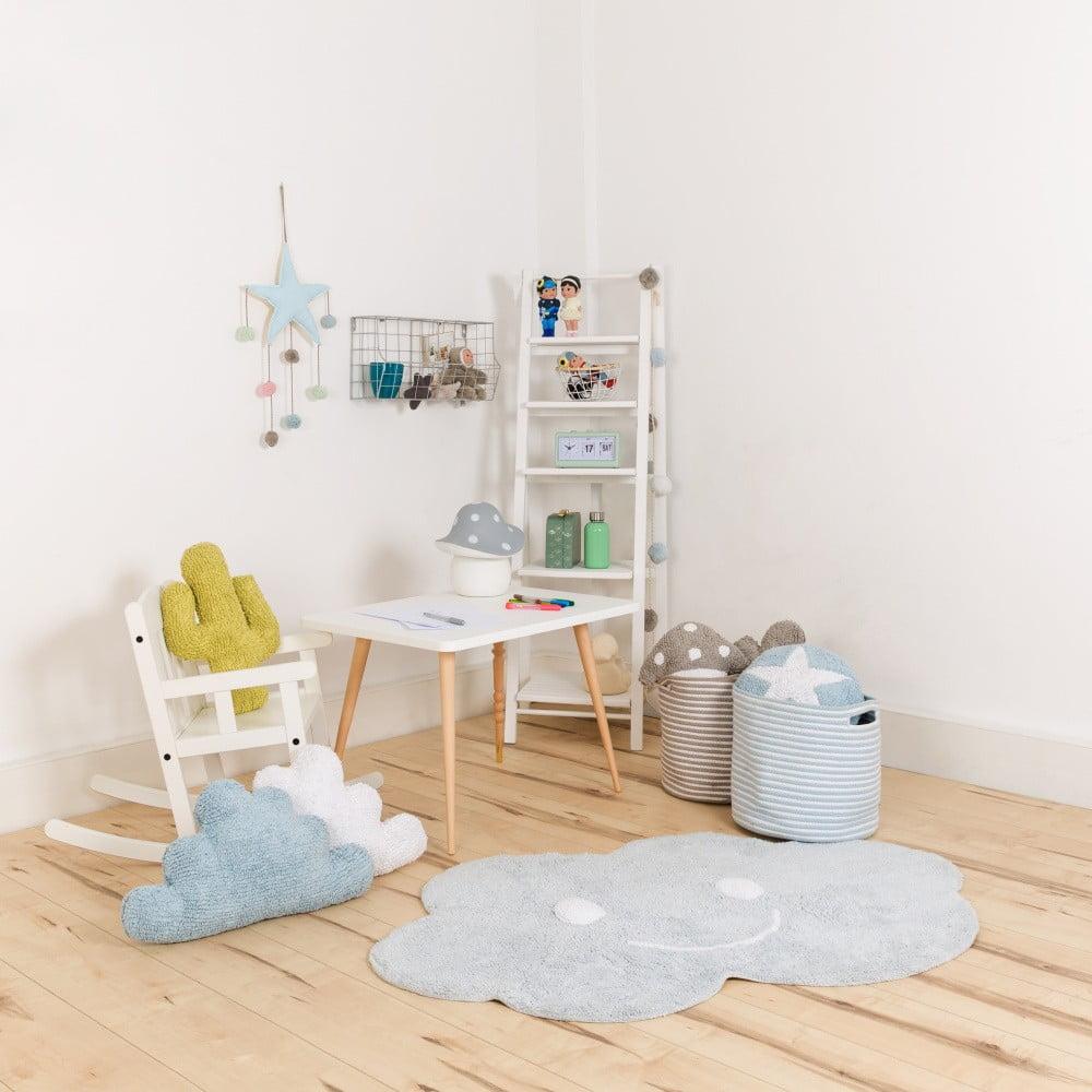 modr bavln n koberec happy decor kids cloud 75 x 115 cm bonami. Black Bedroom Furniture Sets. Home Design Ideas