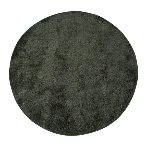 Zelený okrúhly koberec House Nordic Florida, ø 120 cm