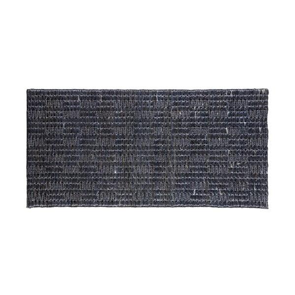 Covor din iută BePureHome Scenes, 140 x 70 cm, negru