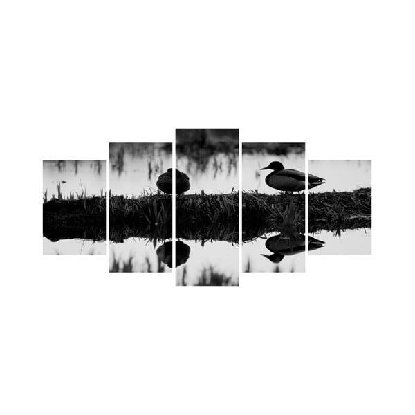 Vícedílný obraz Black&White no. 87, 100x50 cm