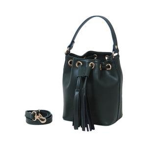 Zelená kabelka z pravé kůže Andrea Cardone Green Julia