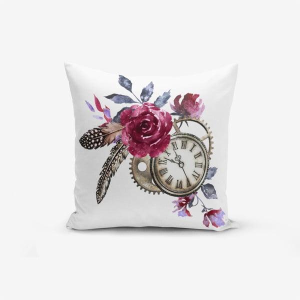Față de pernă cu amestec din bumbac Minimalist Cushion Covers Cep Saati Bird Tuyu, 45 x 45 cm