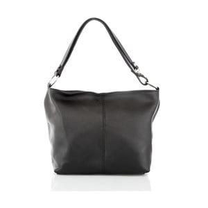 Černá kožená kabelka Glorious Black Lorella