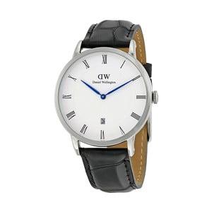 Dámské hodinky s černým páskem Daniel Wellington Dapper Reading, ⌀38mm