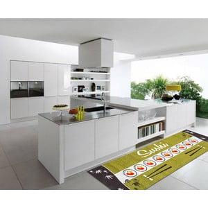 Vysoce odolný kuchyňský koberec Webtappeti Sushi, 60x300 cm