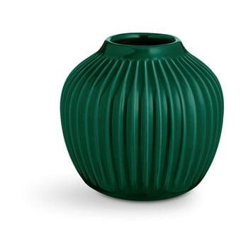 Vază din ceramică Kähler Design Hammershoi,înălțime 12,5 cm, verde