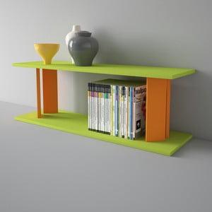 Police Replay 110x39 cm, oranžová a zelená