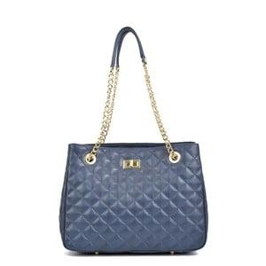 Modrá kožená kabelka Isabella Rhea Marsso