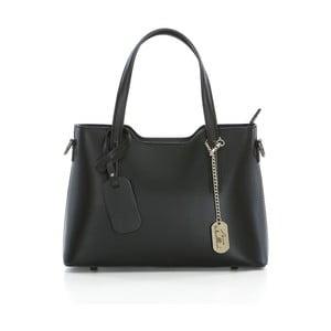 Černá kožená kabelka Anna Morellini Nela