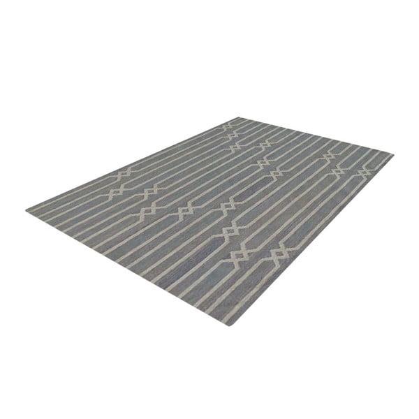 Ručně tkaný koberec Bakero Kilim JP 11180 Grey, 110x170 cm