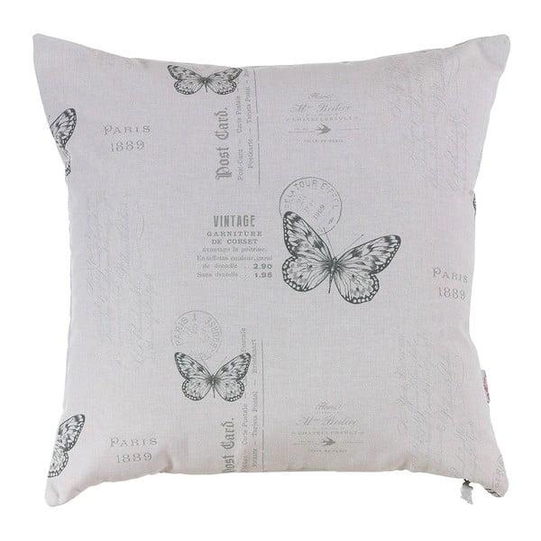 Poszewka na poduszkę Grey Butterfly
