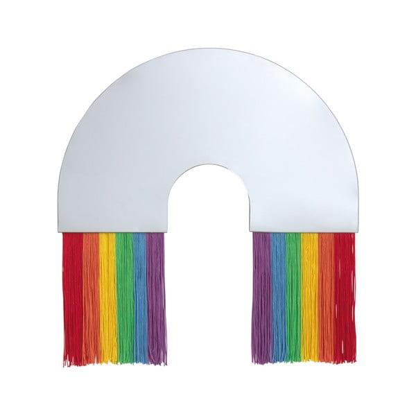 Nástěnné zrcadlo DOIY Rainbow, 36 x 38 cm