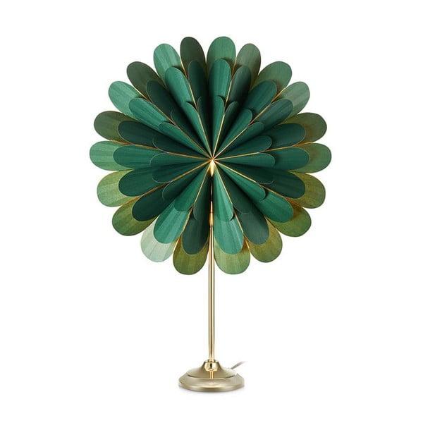 Zelená svetelná dekorácia Markslöjd Marigold, výška 68 cm