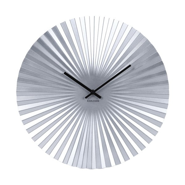 Sensu ezüstszínű óra, ø 40 cm - Karlsson