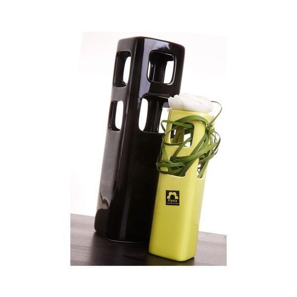 Váza Tarn 21 cm, zelená