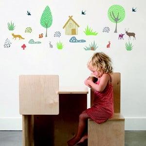 Nástěnné samolepky Art For Kids Forest