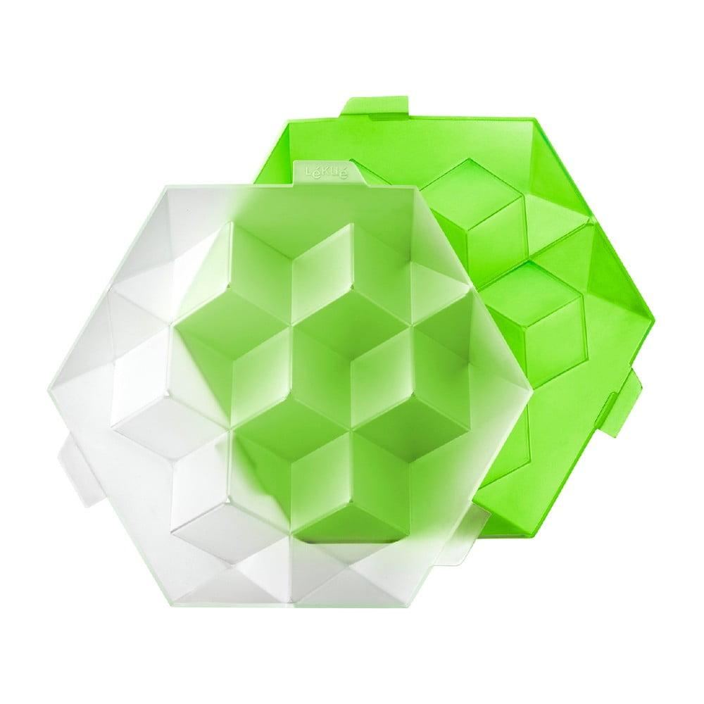 Produktové foto Zelená silikonová forma na led Lékué Giant Ice Cube