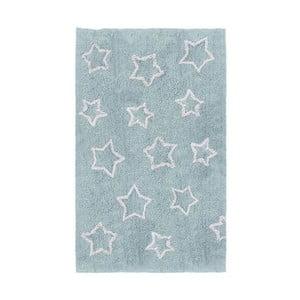 Covor pentru camera copiilor Tanuki White Stars, 120 x 160 cm, albastru