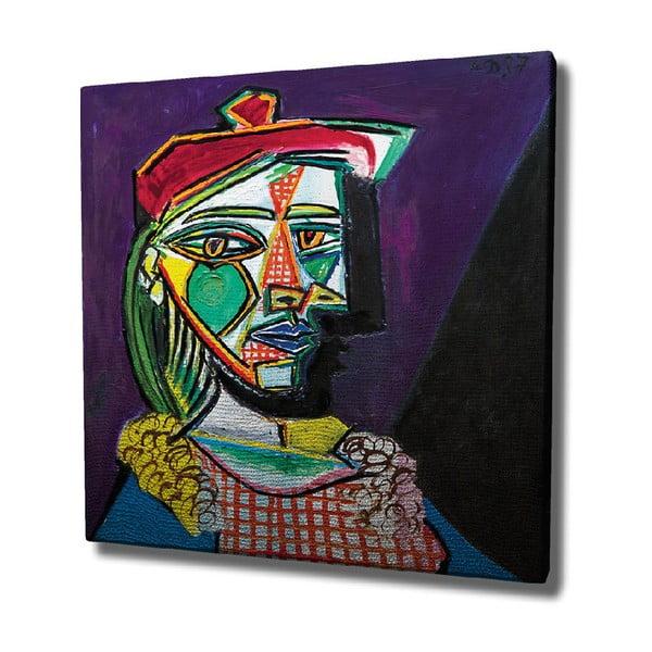 Vászon fali kép Pablo Picasso másolat, 45 x 45 cm