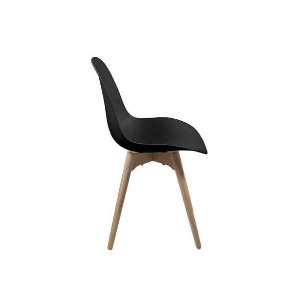 Černá jídelní židle Actona Scramble