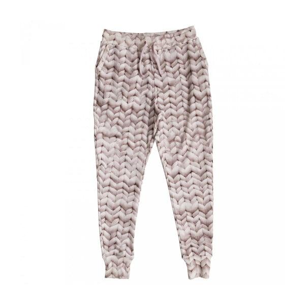 Dámské růžové kalhoty Snurk Twirre, vel. L