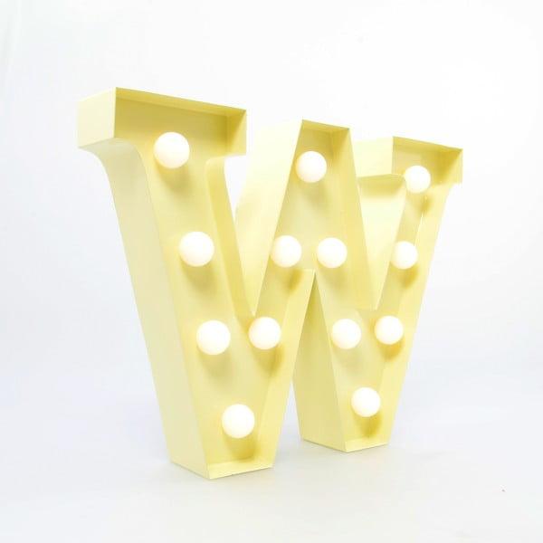 Dekorativní světlo Carnival W, vanilkové
