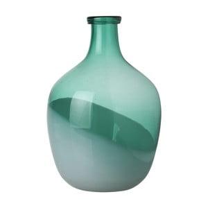 Vază Athezza Bicolour, înălțime 29 cm, verde