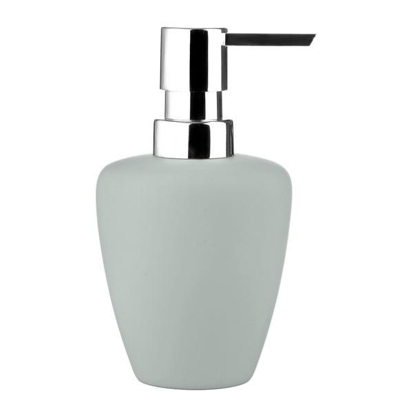 Světle šedý dávkovač mýdla Zone Soft