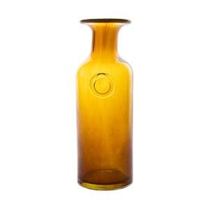 Skleněná karafa/váza Carage, medová