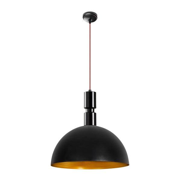 Andrea fekete fém függőlámpa - Opviq lights