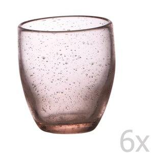 Sada 6 sklenic Victor Pink
