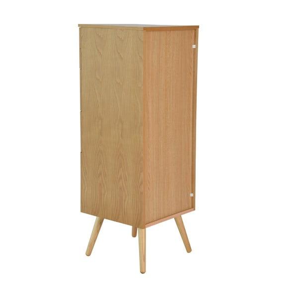 Kancelářské zásuvky Niles, 87x40 cm, dub